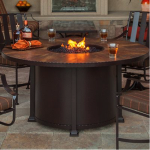 Espresso Finish Fire Pit